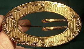 E.A. BLISS (later NAPIER) GP BUCKLE SASH PIN c1895