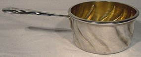 Late 19thC German ELIMEYER 900 SILVER BRANDY PAN 